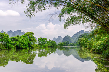 Karst Mountains in Guilin,China