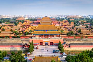 Fotobehang Beijing Beijing, China Forbidden City