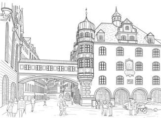 Sketch of Munich