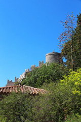Hyères (FRANCE) - medieval castle up the hill