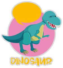 Tyrannosaurus Rex in blue color
