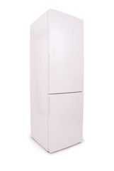 Refrigerator on a white (Clipping path)