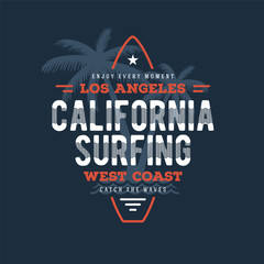 California Surfing board