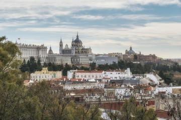 Royal Palace. Madrid, Spain.
