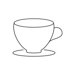 Cup for tea icon