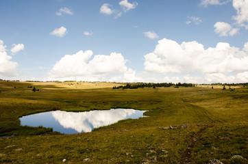 Reflected lake