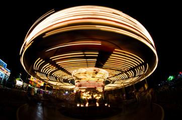 Merry-go-round long exposure