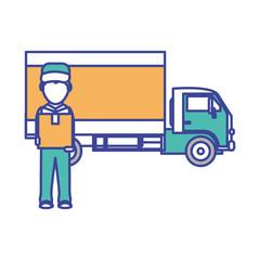 Box man and truck design