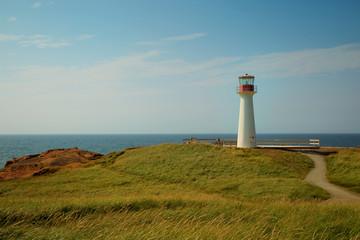Foto auf AluDibond Leuchtturm Cap aux meules lighthouse in Magdalen island
