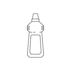 Icon line detergent bottle household utensils