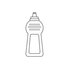 Icon line cleaner detergent bottle dishwasher liquid
