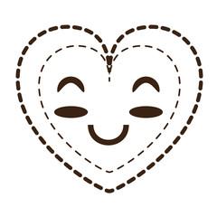 kawaii heart icon