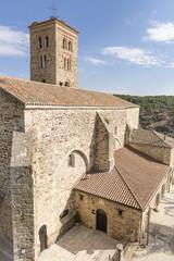 Santa María del Castillo church in Buitrago del Lozoya town, community of Madrid, Spain