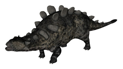 Chrichtonsaurus dinosaur standing - 3D render