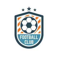 Soccer or Football Club Logo or Badge.