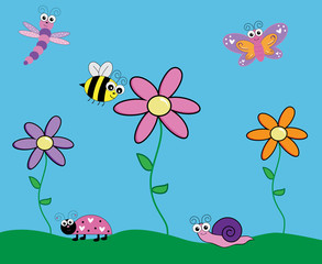 Cute Insect Critters