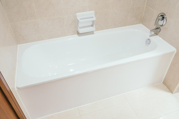 White bathtub