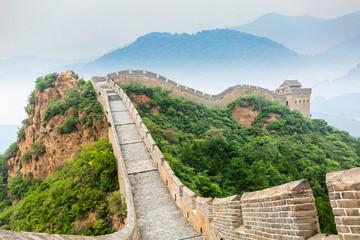 Keuken foto achterwand Chinese Muur The famous Great Wall of China,jinshanling