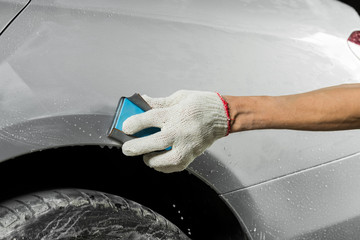 Auto body repair series: Wet sanding car paint