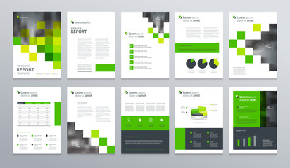 business company profile ,annual report , brochure , flyer, presentations,magazine,and book  layout template, with page cover design and  info chart element. vector a4 size for editable.