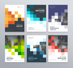 abstract poster cover design template for brochure, flyer, magazine ,annual report, and  presentation  . vector for editable.