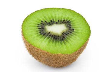 Kiwi im Querschnitt