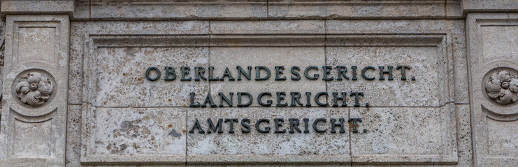 Oberlandesgericht Landgericht Amtsgericht
