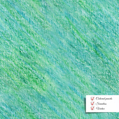 Vector seamless colored pencil textured background. Hand drawing.