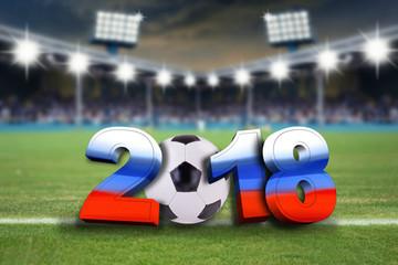 Wall Mural - 2018 Fußball