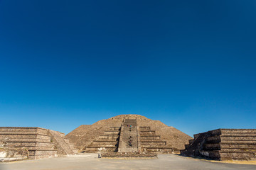 Teotihuacan, Mexico. Pyramid of the Moon