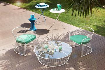 modern garden furniture outdoor decoration