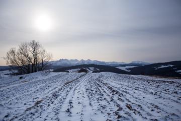 Podhale in winter
