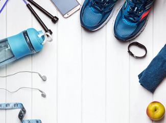 Feminine accessories for fitness.