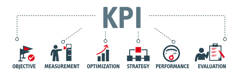 Key Performance Indicator concept vector illustration
