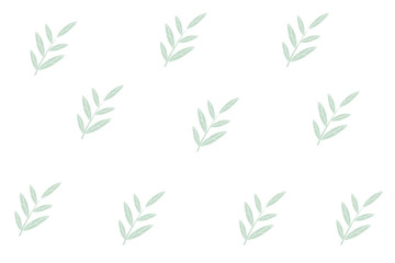 Background of spring leaves
