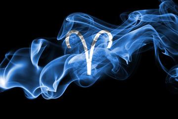 Smoky Aries zodiac astrology sign for horoscope