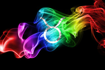Smoky Taurus zodiac astrology sign for horoscope