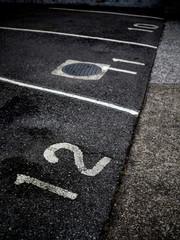 駐車場の番号