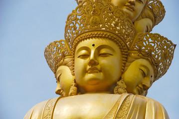 4 sided Buddha Statue