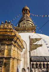 Main Stupa of Swayambhunath, Kathmandu, Nepal