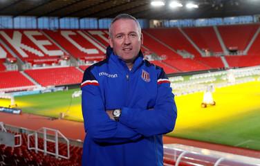 Premier League - Stoke City - Paul Lambert Press Conference