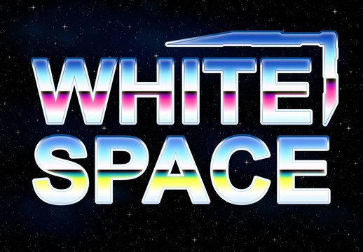 White Space Font Style