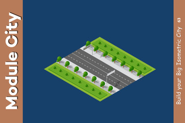 City streets intersection