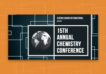 Scientific Event Post Layout 4