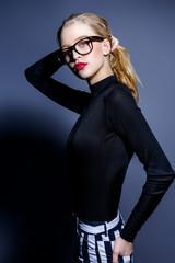 attractive blonde woman