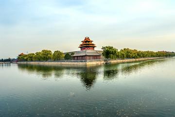 Arrow Watch Tower Gugong Forbidden City Palace Beijing China