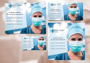 Medical Services Social Media Post Set 7