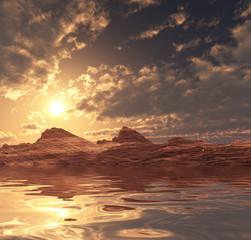 Pustynia słońca