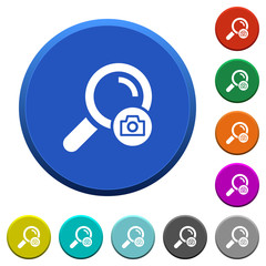Search photo beveled buttons