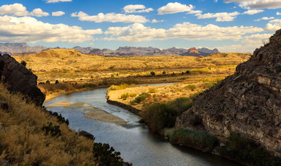 Big Band National Park stretches out from Santa Elena Canyon